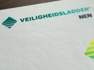Close-up Veiligheidsladder